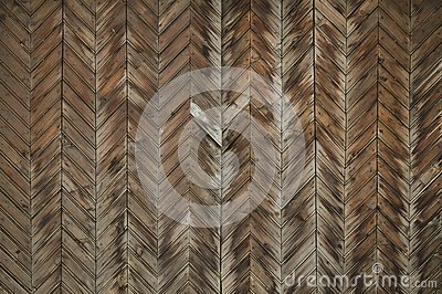 Brown old wood texture. wooden planks background. geometric pattern