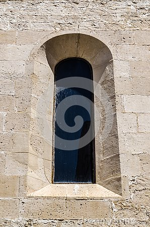 Ancient medieval window