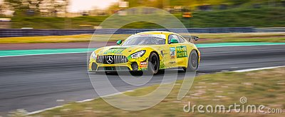 Mercedes-AMG GT4 by Leipert Motorsport during ADAC GT4 at the Motorsport Arena in Germany