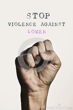 Fist and text stop violence against women