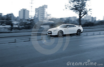stock image of sport car
