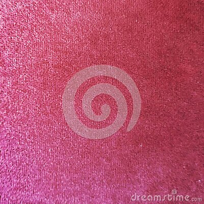 Close up of red colored wool textile