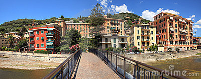 Panoramic view on Recco.