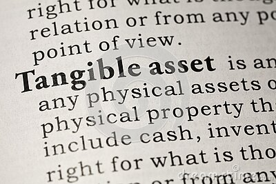 Definition of tangible asset