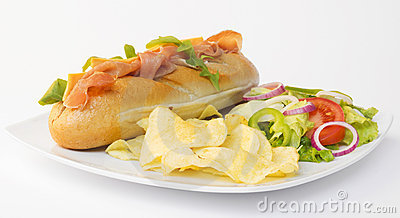 stock image of fast food