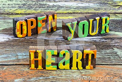 Open your heart to lifestyle happiness love romance