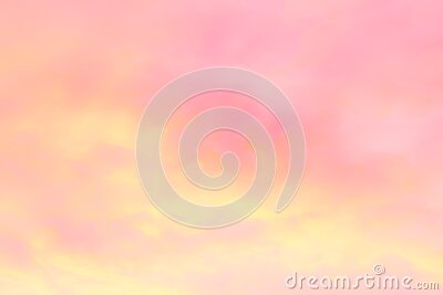 Soft pink abstract blurred background  sunset sky