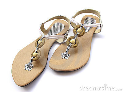 Footwear for ladies sandals
