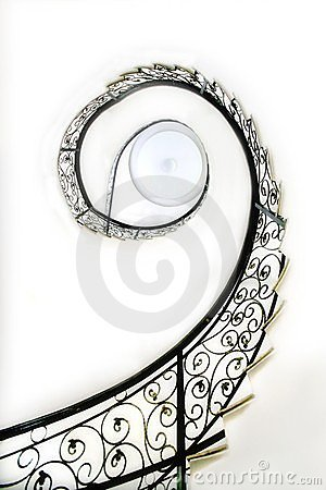 Stairs of revolve