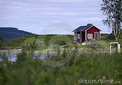 House in Lappland
