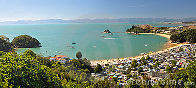 Kaiteriteri Panorama 2, New Zealand