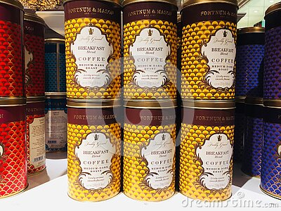 Fortnum & Mason is an upmarket department store in Piccadilly, London