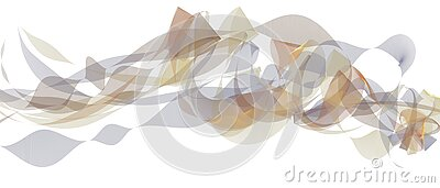 Beautiful living abstract modern waving business background.