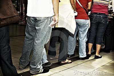 Standing in Line