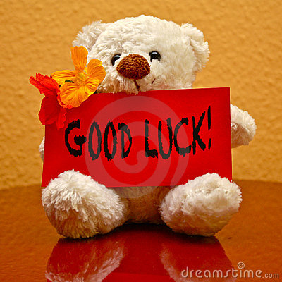 Greeting Card: Good Luck!