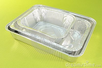 Aluminium catering trays