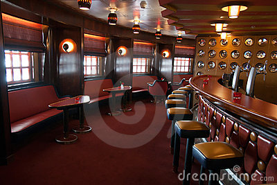 Cruise bar interior