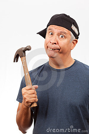 Image result for hillbilly with hammer