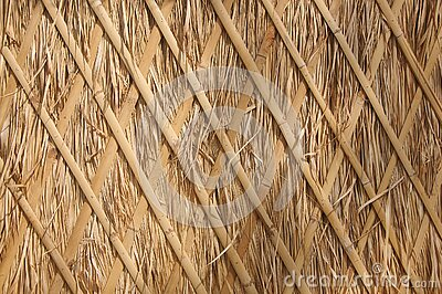 Traditional thatch wall roof background, Hay or dry grass background, Thatched roof, Grass hay, dry straw, Roof background texture