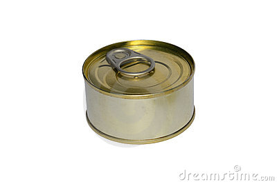 One tin can
