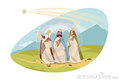 Feast of three kings, religion, bible, chritianity concept