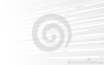 Abstract white technology Hi-tech futuristic digital. High and Lines speed movement. Vector illustration
