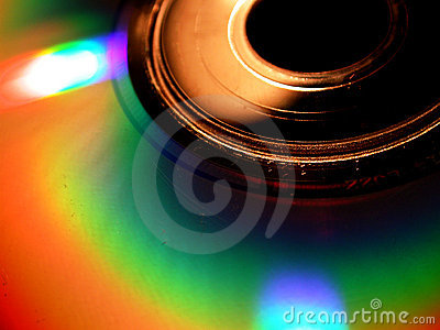 CD Glow Macro Background Photo