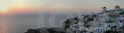 Oia sunset (30 MP image)