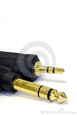 Stereo headphone jacks