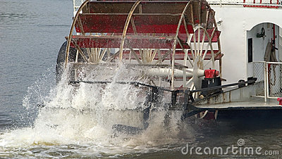 Paddle Wheel in action