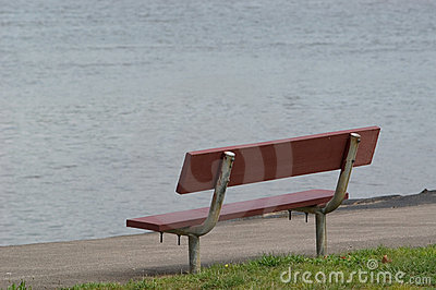 Bench at River's Edge