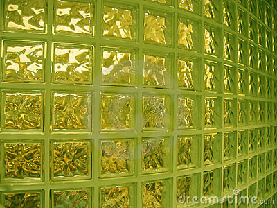 Interior glass wall