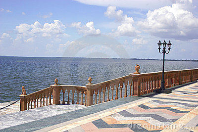 Marble Steps to Bay