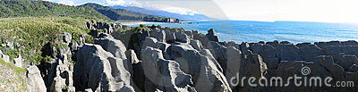 Pancake Rocks Background