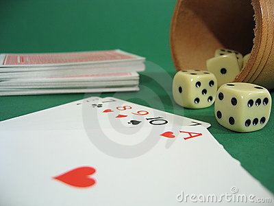 Cards and Dice