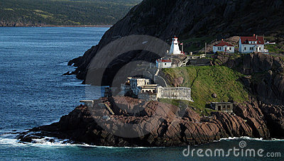 Old Fort with Lighthouse