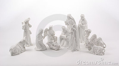 Large Nativity Scene
