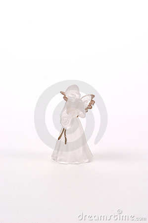 Frosted Glass Angel