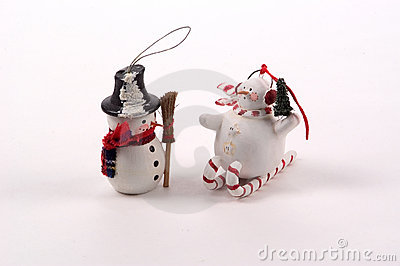 Snowman Tree Ornaments