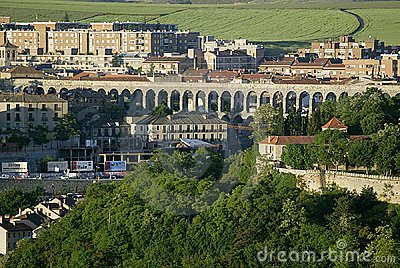 Aqueduct at Segovia, Spain