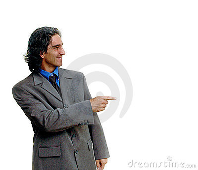 Businessman isolated-2