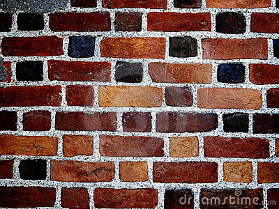 Color bricks wall II