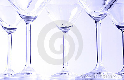 Martini glasses VI