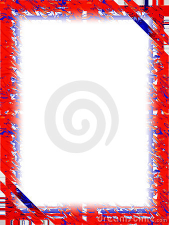 Border: Red White Blue