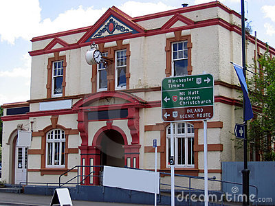Old building in New Zealand