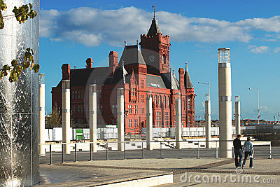 Cardiff Bay Custom House