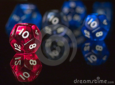 Twelve sided dices