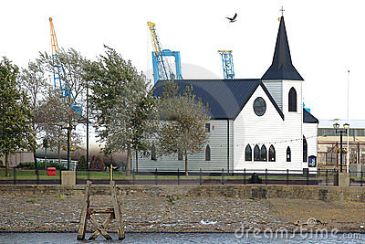 Norwegian Church Cardiff Bay