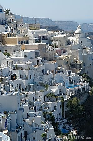 Santorini by day