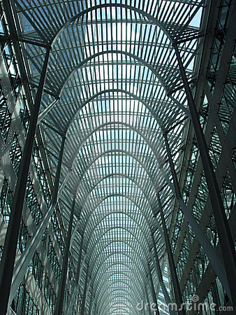 Blue skylight in Toronto
